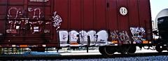 IMG_1930 (mightyquinninwky) Tags: railroad train graffiti grafitti tag tracks tags tagged graffitti rails boxcar graphiti graphitti tanker paintedboxcar