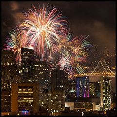 Happy New Year! (rick) Tags: sanfrancisco new city longexposure sky skyline night happy long exposure fireworks year newyear explore nighttime happynewyear 2012 2011 explored