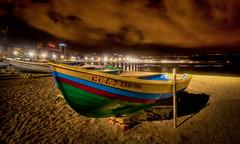 Las Canteras (Bard Myhr) Tags: longexposure beach grancanaria night boats hdr laspalmas lascanteras laspalmasdegrancanaria tonemapping