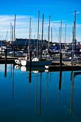 Vallejo Waterfront (Photography by Servando Miramontes) Tags: color beach water marina boats boat nikon waterfront miramontes vallejo vr vessels servando 55200mm d3100