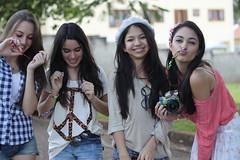 (Gabbys FN) Tags: girls friends party summer sun hot love beautiful smile smiling laughing asian fun skinny perfect pretty peace greeneyes skate laugh blonde brunette teenage tumblr