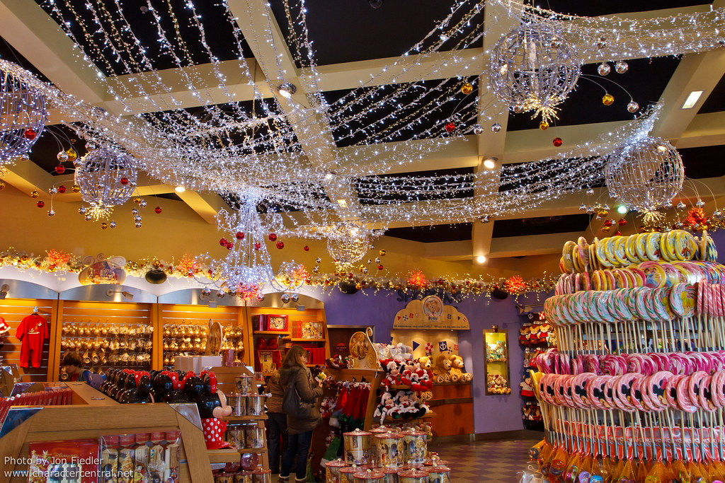 disney village christmas store at disney character central - Disney Christmas Store