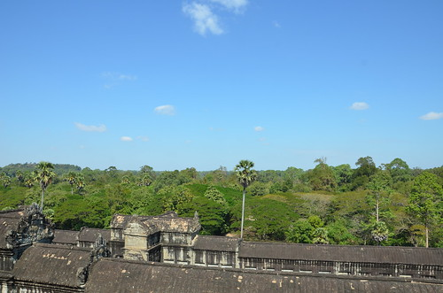 View from the highest level of Angkor Wat ©  Still ePsiLoN