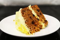 IMG_5435 (Pupcraze) Tags: cake fruit cheese dessert lemon walnuts cream raisins carrot dried frosting