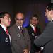 Richard Alfonso Aguilar Villa, Gobernador del Santander, Don Amaris Ramírez París Lobo, Alcalde de Norte de Santander, Edgar Jesús Díaz Contreras, Gobernador de Norte de Santander y Diego Molano Vega, Ministro TIC