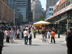 New York, NY 224 (Design for Health) Tags: plaza newyork publicspace pedestrians rightofway photographerannforsyth