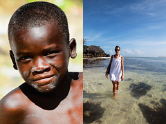 zanzibar (Emmanuel Catteau photography) Tags: africa travel blue sea portrait tourism beach water beauty face coral children tanzania hotel boat kid holidays photographer turquoise dive reporter resort national journey planet conde lonely zanzibar reef geo geographic nast catteau wwwemmanuelcatteaucom