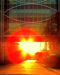 sun flare... (sazzy) Tags: sunset sun sunflare project365 12366 ibeautygroup 365moments2012 iamgoingtoruinmyeyesdoingthis iamalwaystryingforsunflares butthisonewasreallybrighttonight