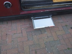 Electrically-operated sliding step (Mudman101) Tags: fiat motorhome ducato