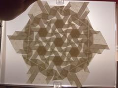 DSCF0109 (ЗЗ) Tags: art paper geometry twist tessellation tessellations tesselation paperfolding papiroflexia fujimoto chrispalmer octagons dodecagon flowertower shadowfold