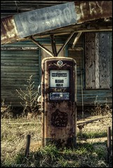 Fill 'er up (dsfdawg) Tags: old abandoned station rural ga georgia lost wooden rust ellis decay south country rustic historic gas falling pump southern abandon forgotten rusted grocery hdr highdynamicrange smalltown apart oldsouth thissale dsfotography dsfdawg