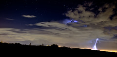 Perth Lightning (Darren Wirth Photography) Tags: blue sky cloud storm night star australia perth western lightning