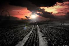 Heaven's a Lie (Noro8) Tags: road sky sun bike wheel clouds photoshop scenery heaven view atmosphere ferris lie brushes mygearandme mygearandmepremium mygearandmebronze mygearandmesilver mygearandmegold mygearandmeplatinum noro8