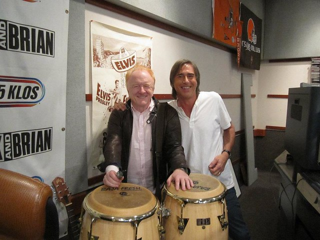 Peter Asher (with Breakfast With the Beatles host CHRIS CARTER)