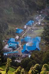 Ghorepani (Michał Olszewski) Tags: nepal asia village land himalayas settlement acap civilengineering gandaki ghorepani punhill kaski annapurnaconservationarea annapurnaconservationareaproject landstructures poonhill3210m
