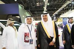 Sheikh Hamad Bin Jassim al-Thani (AlBargan) Tags: show canon lens is bin 7d motor usm hamad sheikh efs f28 motorshow 2012 doha qatar   jassim   1755mm    althani