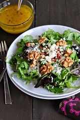 Spring Salad with Orange Vinaigrette (dineanddish) Tags: food orange vegetables recipe salad citrus vinaigrette