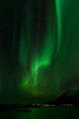 Aurora Borealis Harstad (solar storm) 2012 (kristofferaas) Tags: sea sky cold sol norway norge himmel aurora lys lang borealis hav harstad nordlys kaldt lukkertid