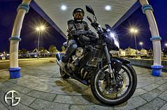 Me (A.G. Photographe) Tags: fish france nikon fisheye ag moto motorcycle nikkor franais hdr anto photographe kawazaki xiii z750 16mmfisheye d700 antoxiii hdr9raw agphotographe