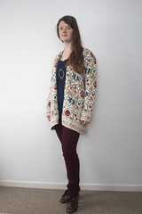 Free Friday 27/1/12 (Lizzie Staley) Tags: fashion vintage free clothes recycle eco cardigan ethical freefriday