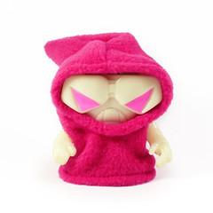 A Little Stranger x The Tarantulas GID Nibblers (alittlestranger.com) Tags: pink hot real hoodie head nibbler gid onell alittlestranger thetarantulas