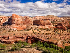 Grand Staircase-Escalante National Monument, Scenic Byway 12, Boynton Overlook (darthjenni) Tags: trip travel vacation southwest nature rock stone landscape outdoors utah aperture desert canyon hike geology kanecounty formations blm ptlens geological coloradoplateau grandstaircaseescalantenationalmonument gsenm colorefexpro30 dfine20 olympuszuikodigitaled1442mmf3556 sharpenerpro30 olympuse620 viveza2
