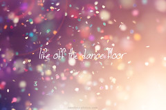 life off the dance floor (Maegondo) Tags: light party colors backlight canon germany bayern deutschland bavaria 50mm dance dof floor bokeh 14 confetti depthoffield lensflare dancefloor ingolstadt eos550d