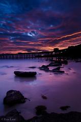 In and Outs of a Sunrise (Explored! #118) (Bluemonkey08) Tags: sunrise newcastle australia nsw 2012 catherinehillbay explored ericlam blackcardtechnique tokina1116mmf28atxpro bluemonkey08 nikond7000