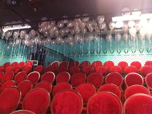 Heliumballonnen Ballonnenplafond Walhalla Theater Rotterdam