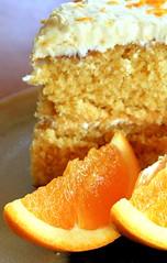 Gold Cake Macro (MaddieLeeCL) Tags: food orange cake fruit dessert gold photo sweet egg