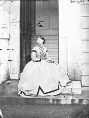 Crinoline (National Library of Ireland on The Commons) Tags: ireland portrait galway wednesday steps january doorway 1860s bighouse 31 choker connacht connaught 1866 crinoline sideentrance congreve nationallibraryofireland dillonfamily ahascragh clonbrockhouse clonbrockestate augustacongreve