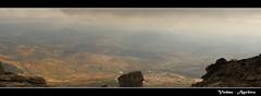 Desde el Torcal (Zalosev) Tags: espaa naturaleza nature canon landscape spain widescreen gimp paisaje andalucia panoramica otoo malaga acantilado torcal antequera 2012 piedras eltorcal hugin canoneos400d