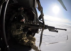 (U.S. Central Command (CENTCOM)) Tags: sniper uh60blackhawk