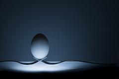 Egg Photography (Flavio~) Tags: studio silverware egg