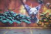 Felix (• CHRISTIAN •) Tags: streetart art wall cat 35mm graffiti nikon chat montréal felix mur mtlguessed d80 gwim