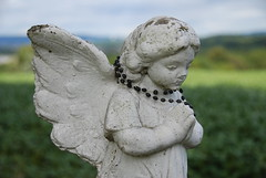 """Angel praying at Jesuit Center • <a style=""""font-size:0.8em;"""" href=""""http://www.flickr.com/photos/75865141@N03/6814700889/"""" target=""""_blank"""">View on Flickr</a>"""