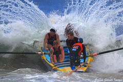 pushing thru (Graeme Gillmer) Tags: water amazing magic wave rowing deewhybeach surfboats oceanthunder