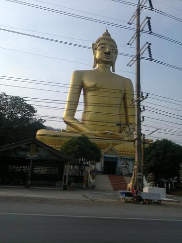 Giant roadside Buddha
