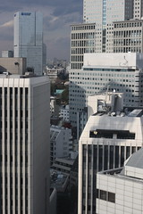 Tokyo from the ANA Intercontinental: Concrete forest (kevin dooley) Tags: street city urban cloud 3 building window japan architecture canon 50mm hotel tokyo ana downtown shot 21 dusk 14 business commercial roppongi residential hotelroom intercontinental kasumigaseki chome fllor 21stfloor japanesearchitecture downtowntokyo 40d concreteforest japanarchitecture anaintercontinental japancity twentyfirstfloor anaintercontinentaltokyo japanurban hotelroomwindowshot