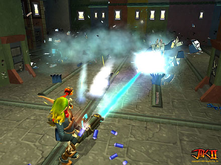 Jak II screenshot 6