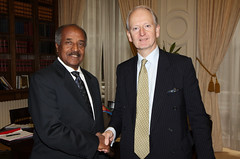 Foreign Minister of Eritrea (Foreign and Commonwealth Office) Tags: henry bellingham foreignoffice fco ukforeignoffice henrybellingham