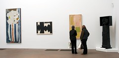 Landscape of Modern Art (LaValle PDX) Tags: sanfrancisco sculpture deyoungmuseum abstractart paintings markrothko davidsmith louisenevelson robertmotherwell