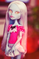Pretty Spel (Hiritai) Tags: abbey fashion monster high doll dolls customized custom mh customised repaint repainted bominable