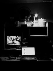 4/52 (Francine Silva) Tags: mike trash vintage project fan office laptop room retro quarto weeks ventilator projeto tablet escritório silva 52 francine semanas wazowski 52project francinesilva francinecsilva