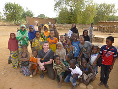 WKU Geoscience Water Empowerment Research West Africa (surfkynews) Tags: pose children for women village group picture study after remote completing a songhai ganguel