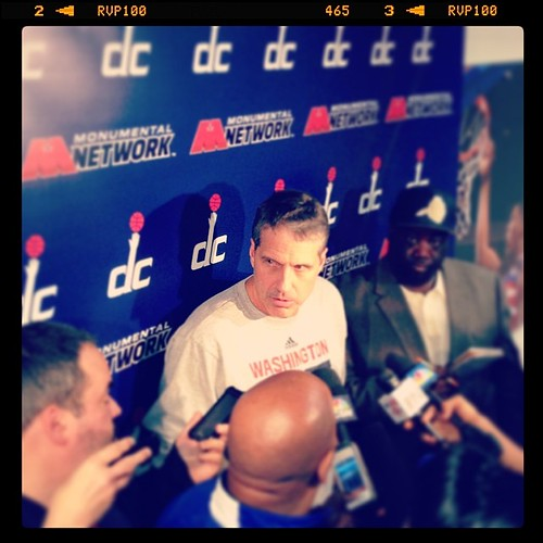 #WittmanFace Pre-Playoff Focus. #Wizards