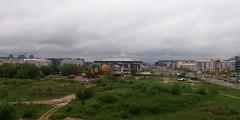 April (dvolic) Tags: blue green clouds arena april belgrade