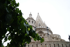 Fisherman's Bastion (endors toi) Tags: city travel building lines architecture contrast hungary budapest explore fishermans bastion