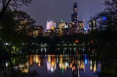 Colorful Reflections (Lojones13) Tags: newyork skyline night cityscape nocturnal outdoor centralpark