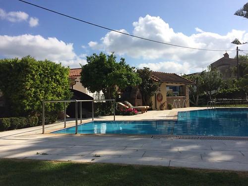 Deserted pool